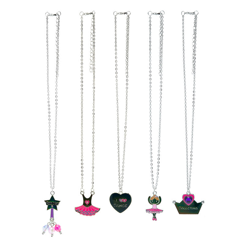MD349N Mood Dance Silver Chain Necklaces - 12 Pc Pack Unit
