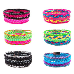 RFC1277DBX Assorted Multirow Ipanema Bracelets Display - 36 pcs Display