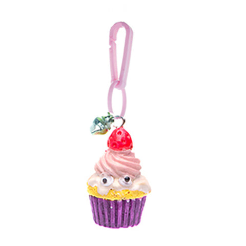 RT101C-2 Retro Charm 3D Pink Cupcake - 3 Pack Unit
