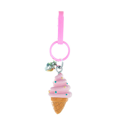 RT107C-1 Ice Cream Cone Retro Charms - 3 Pack Unit