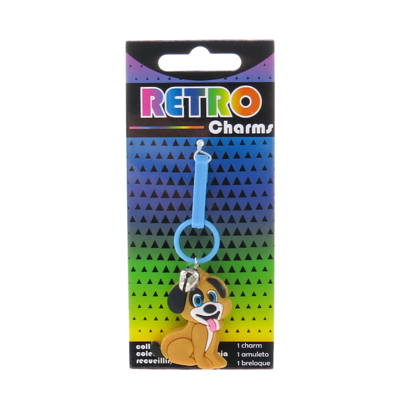 RT161C-1 Dog Retro Charms - 3 Pack Unit