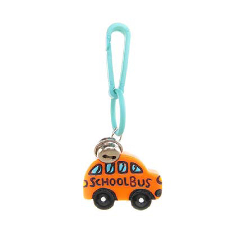 RT205C-1 School Bus Retro Charms - 3 Pack Unit