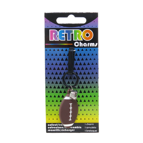 RT205C-3 Foot Ball Retro Charms - 3 Pack Unit