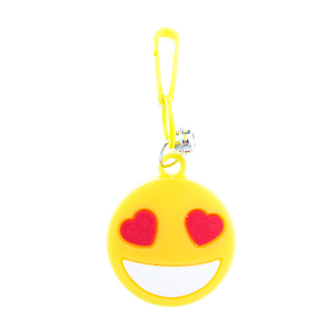 RT280C-1 Heart Eyes Emoji Retro Charms - 3 Pack Unit