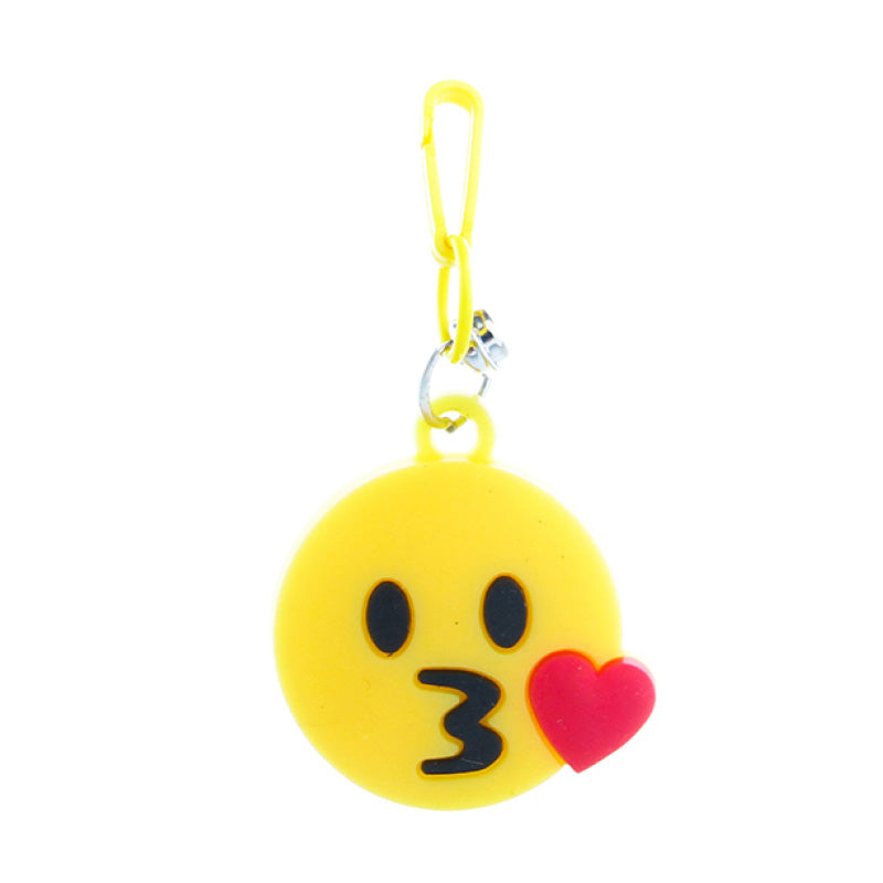 RT280C-3 Kisss-Heart Emoji Retro Charms - 3 Pack Unit