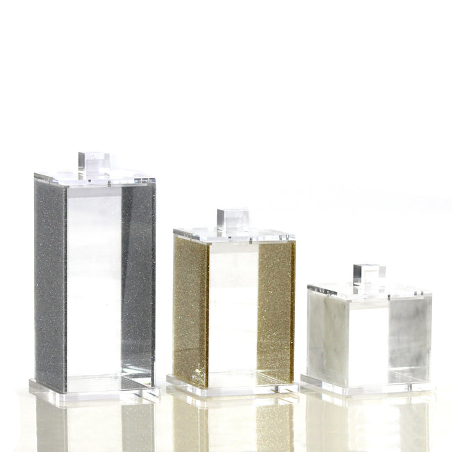 Lucite Canister