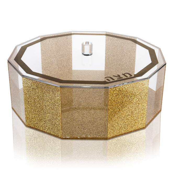 Lucite Matzah Box - Hexagon
