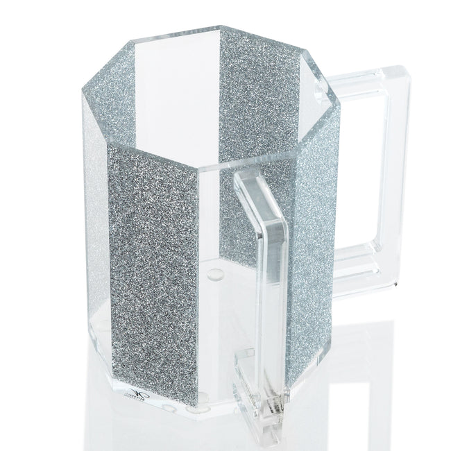 Lucite Washing Cup- Hexagon