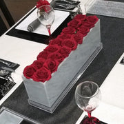 Lucite Flower Box - 18 Rose
