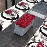 Lucite Flower Box - 24 Rose