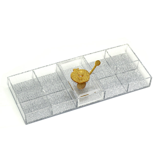 Lucite Sectional (Simanim) Tray