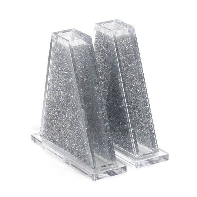 Lucite Salt Shakers - Triangle