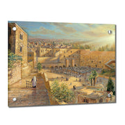 Alex Levin Kotel Sunrise Giclee Art