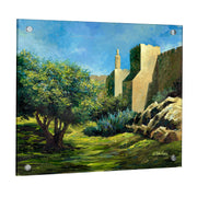 Gitty Fuchs Jerusalem Fields Giclee Art