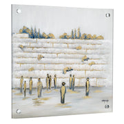 Gitty Fuchs Kotel Giclee Art (Square)