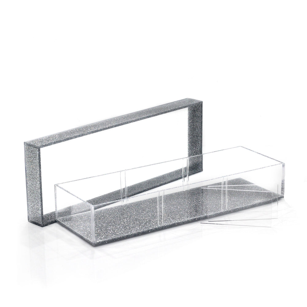 Lucite Divider Sectional Tray (3 Medium)