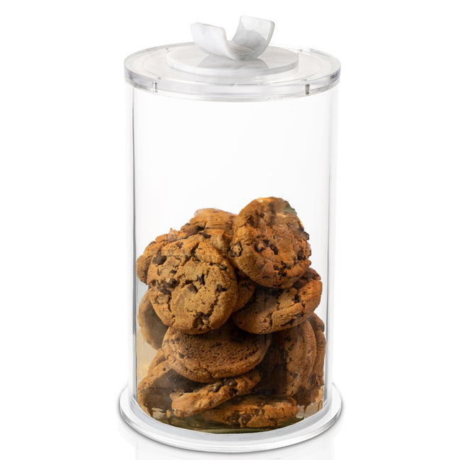 Marble Cookie Jar - U