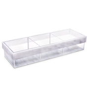 Lucite Divider Sectional Tray (3 Large)