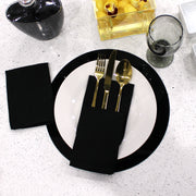 Lucite Chargers - Black (4)