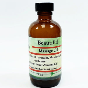 Beautiful Massage Oil
