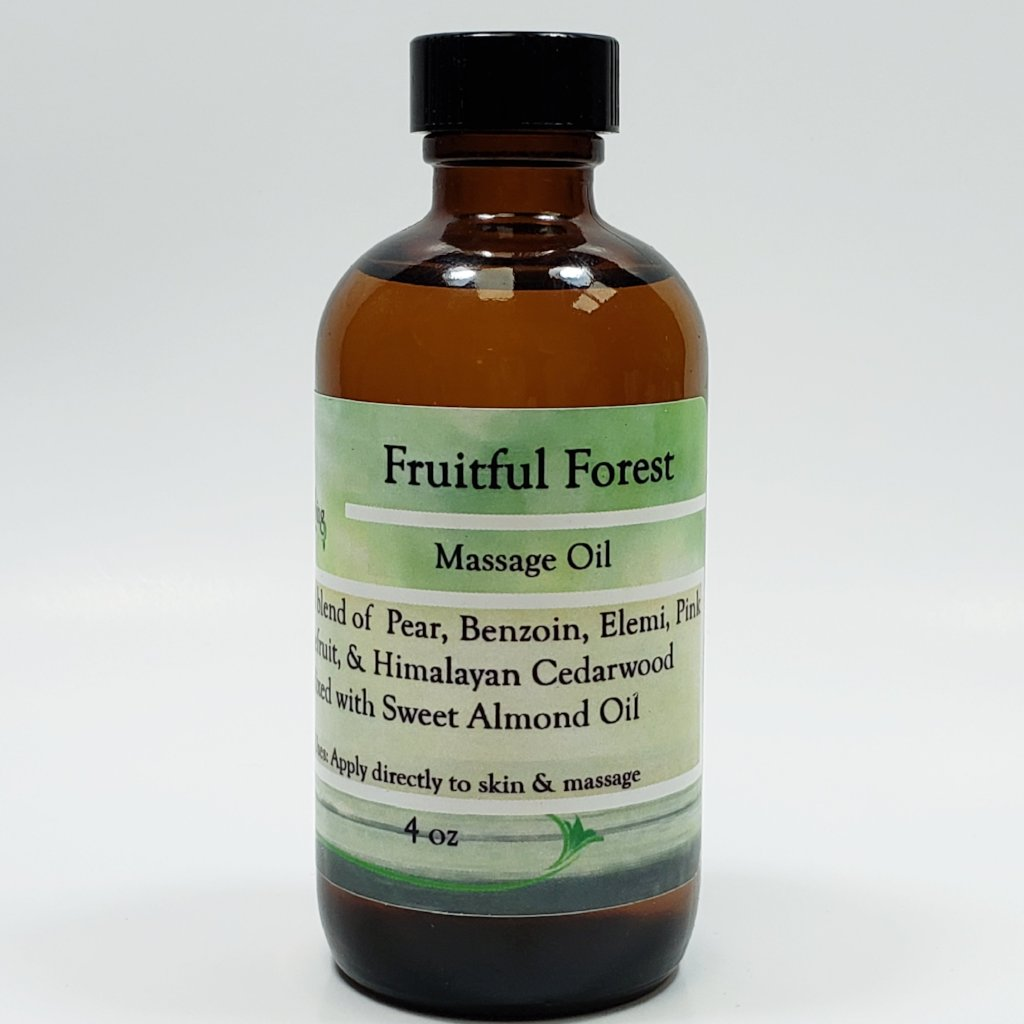 Fruitful Forest Massage Oil