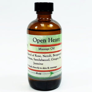 Open Heart Massage Oil