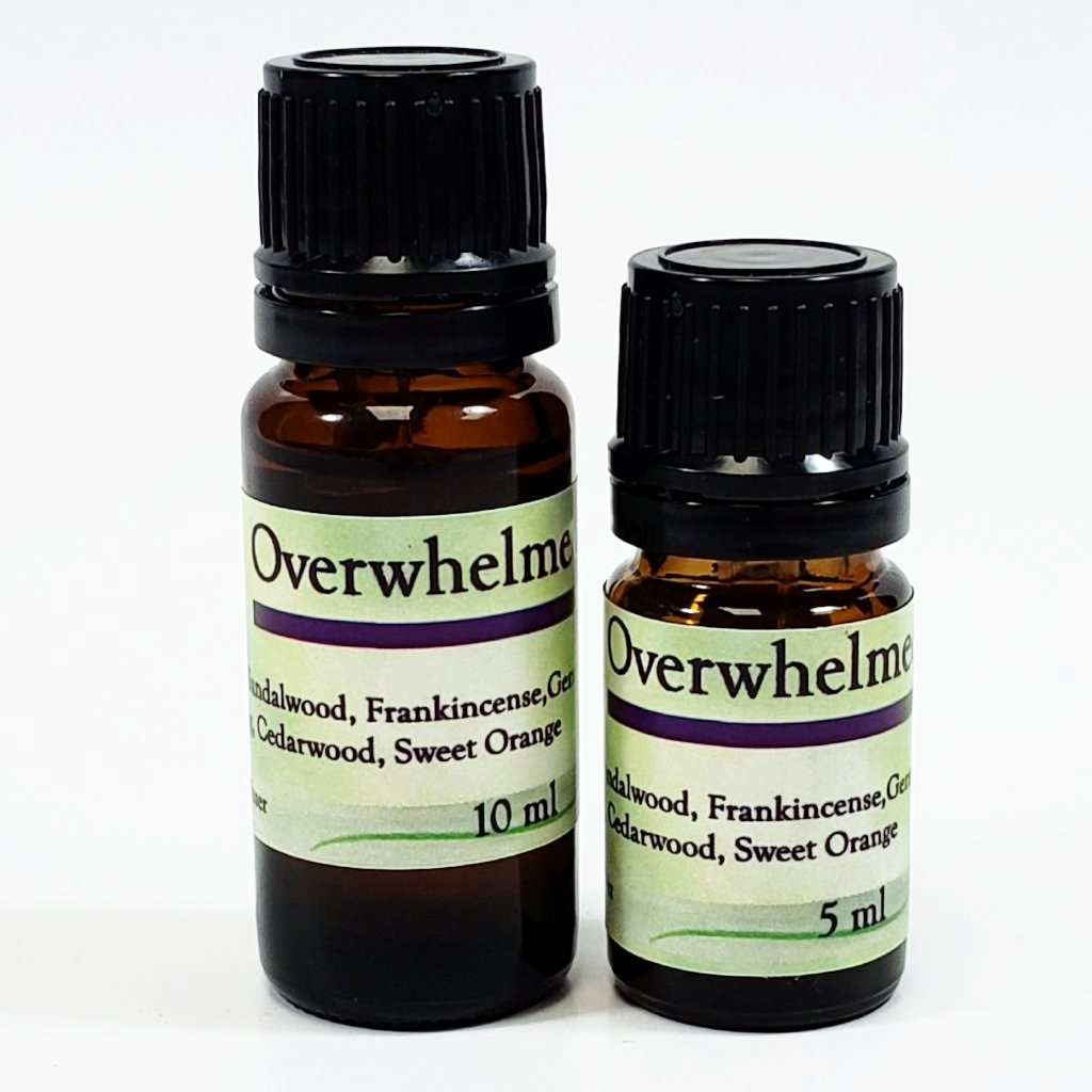 Overwhelmed Essential Oil Blend