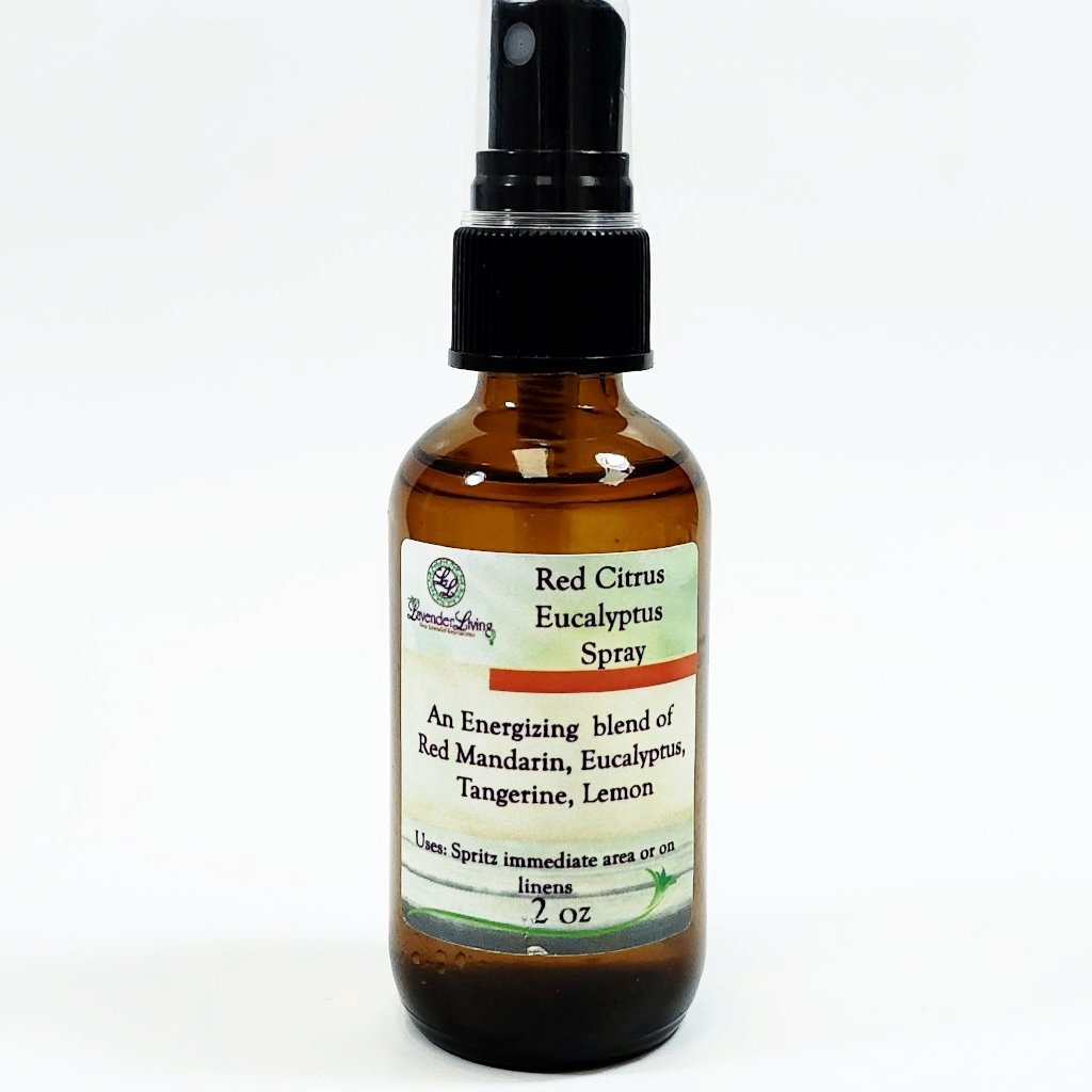 Red Citrus Eucalyptus Misting Spray