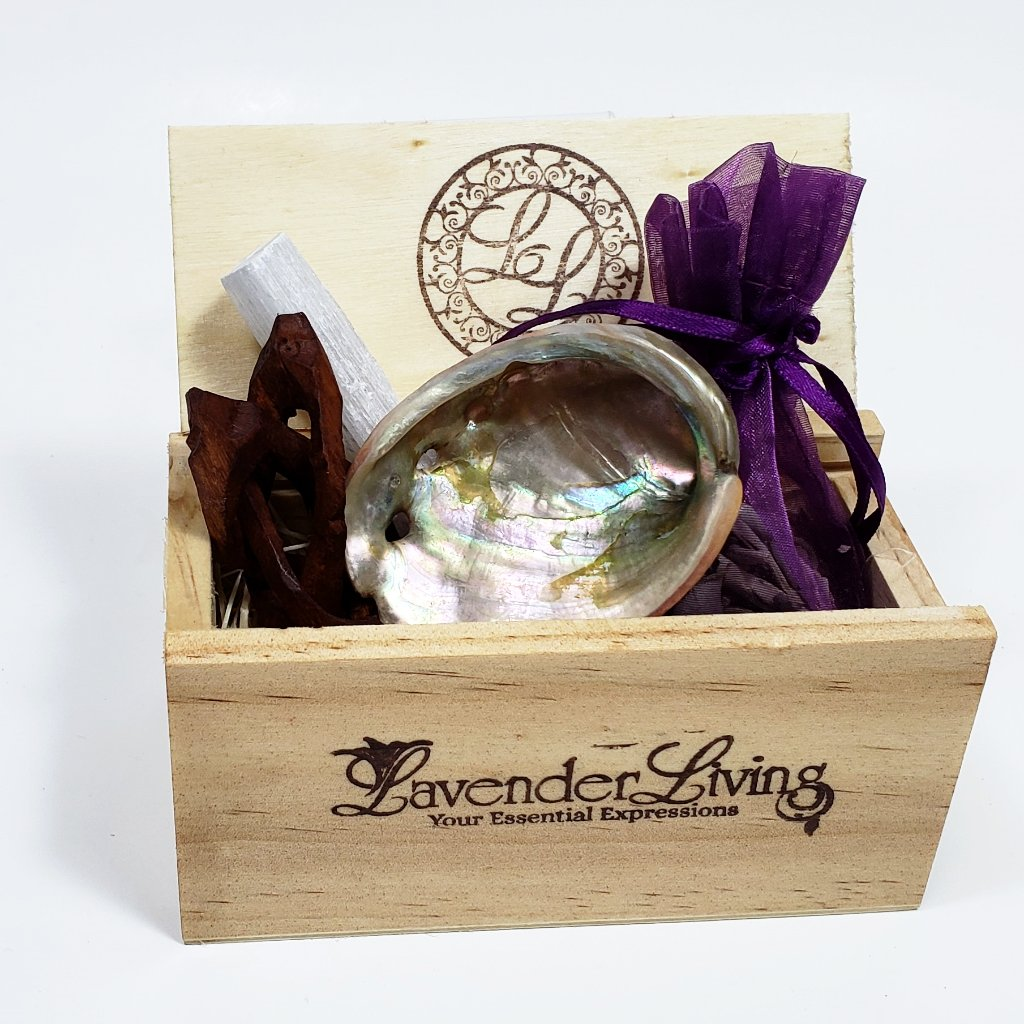 Sage and Crystal Gift Crate