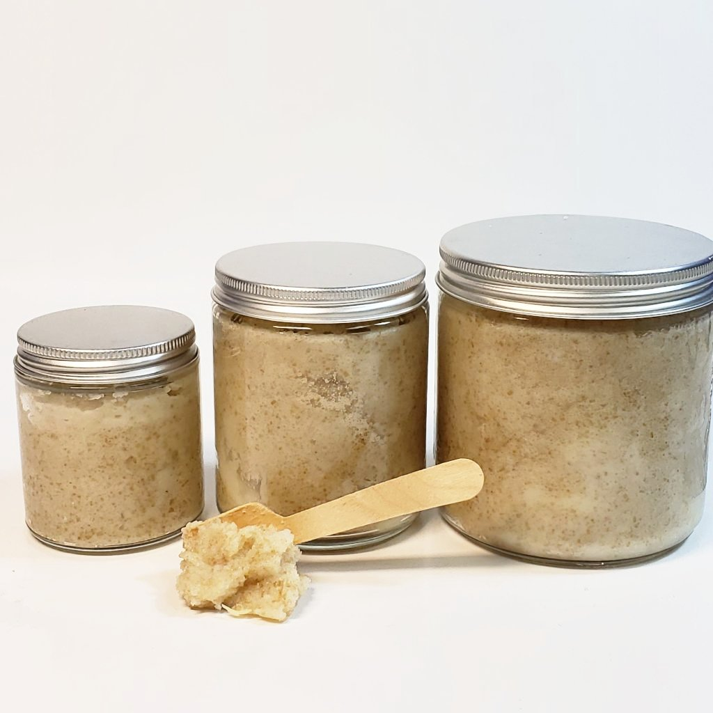 Lights Out Sugar Scrub