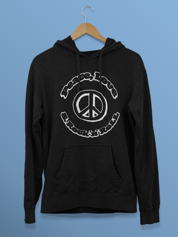 Peace, Love & Rock 'n' Roll (Unisex Hoodie)