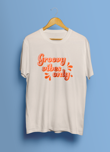 Groovy Vibes Only -The Remix (Unisex T-Shirt)