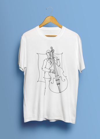 The Artsy Bassist (Unisex T-Shirt)