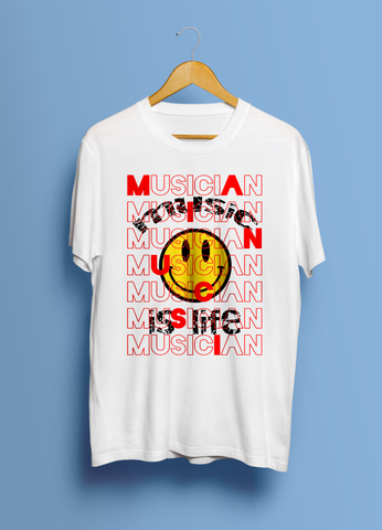 Music Is Life (Unisex T-Shirt)