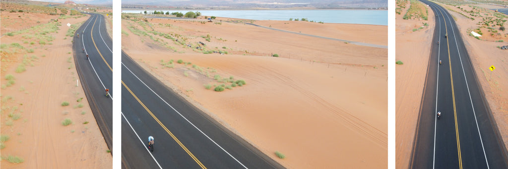 Overview images of IRONMAN Worlds in ST George