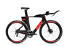 Quintana Roo PRfour Disc Triathlon Bike with Neon Fire Graphics