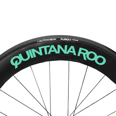 Cool Mint QR wheel Decals