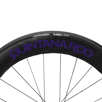 Electric Purple QR wheel Decals