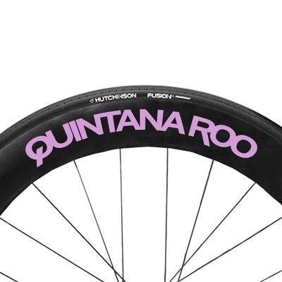 Pale Lilac QR wheel Decals