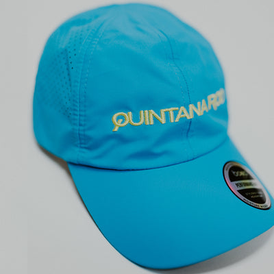 Quintana Roo Blue Technical Running Hat