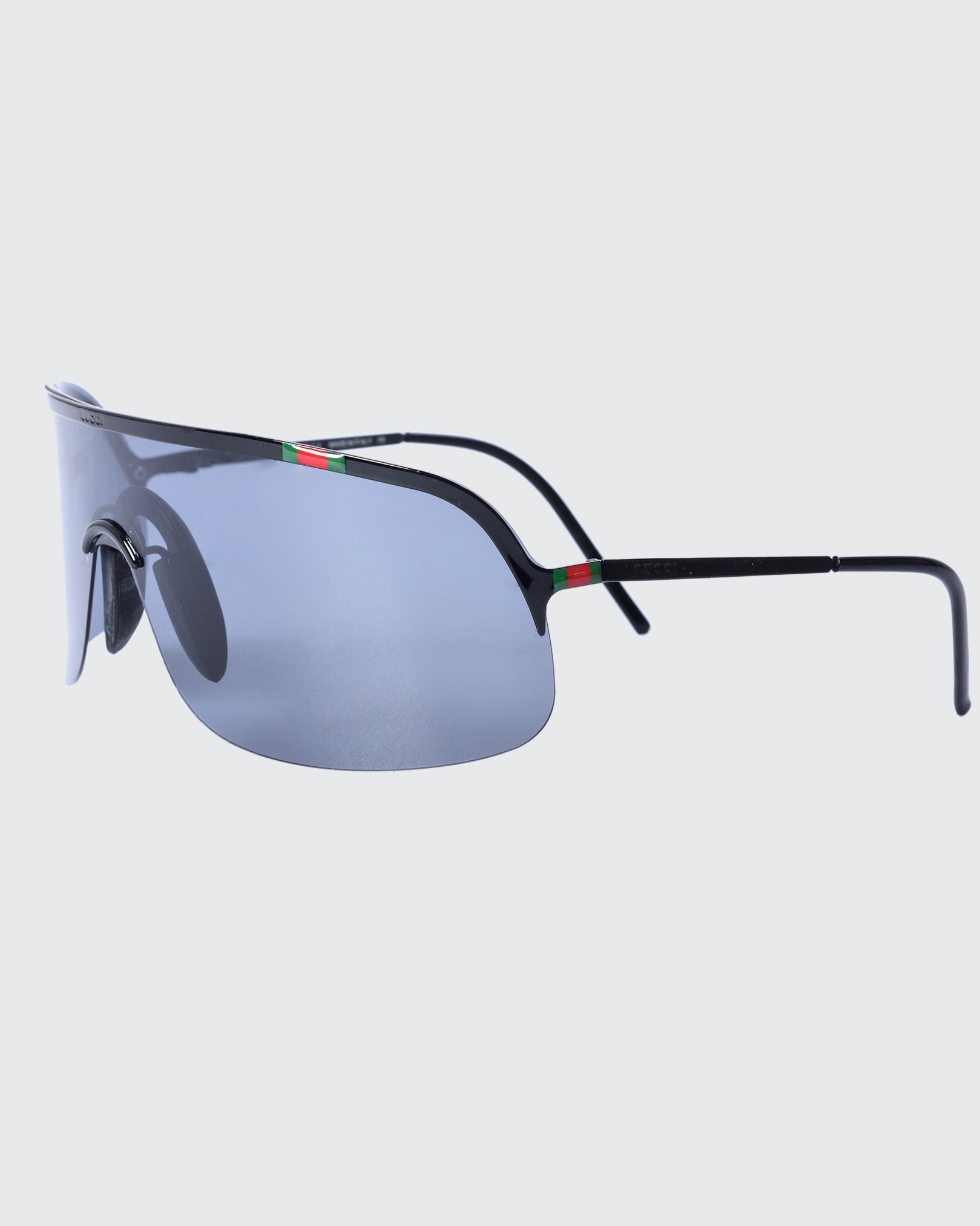 Gucci Unisex Black Sunglasses