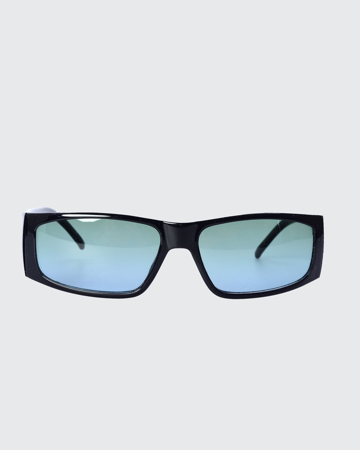 Gucci Black Rectangle Sunglasses