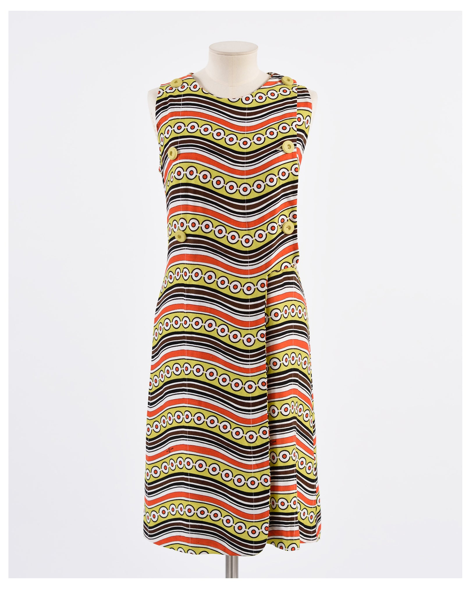 1970s Cotton Dress - Cavalli e Nastri