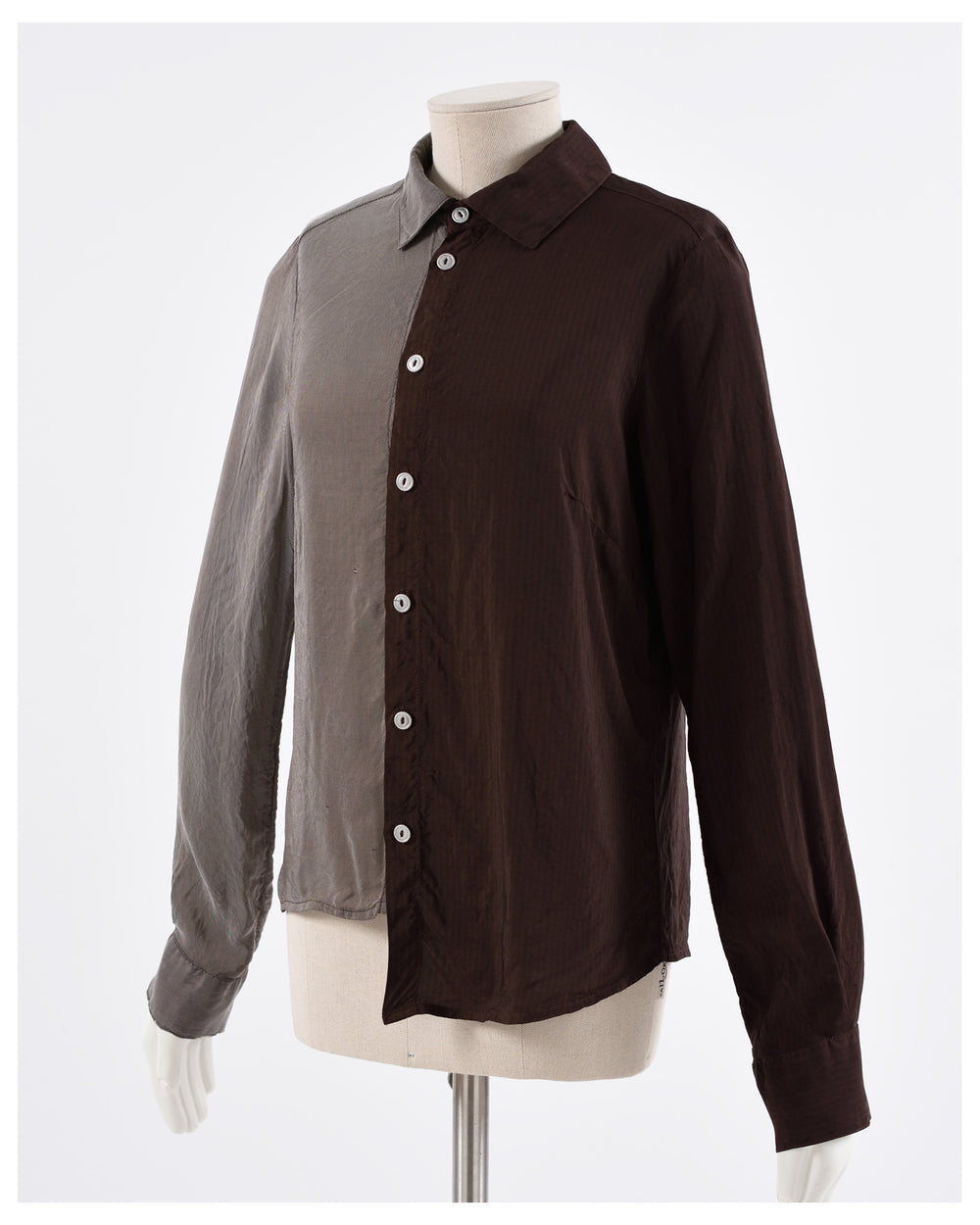 1990s Asymmetric Shirt