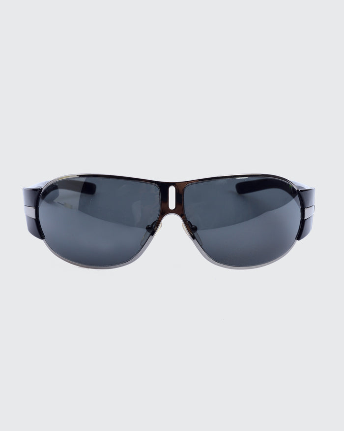 Prada Black Rectangle Sunglasses