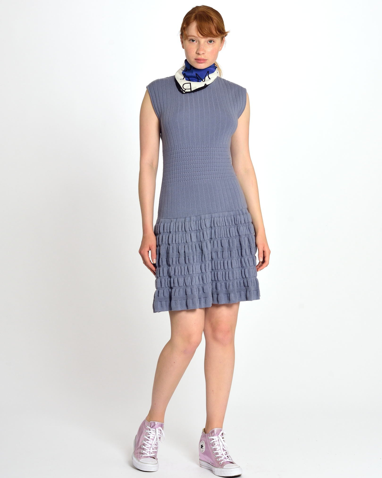 PHILOSOPHY by ALBERTA FERRETTI Lavender Dress
