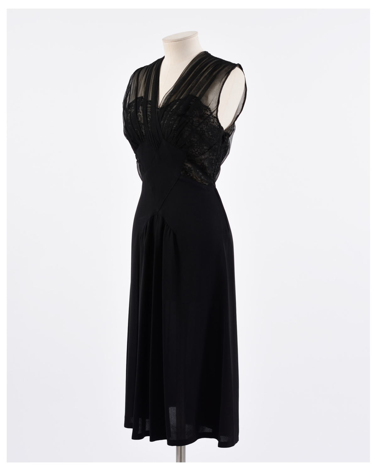 1940s Cocktail Dress