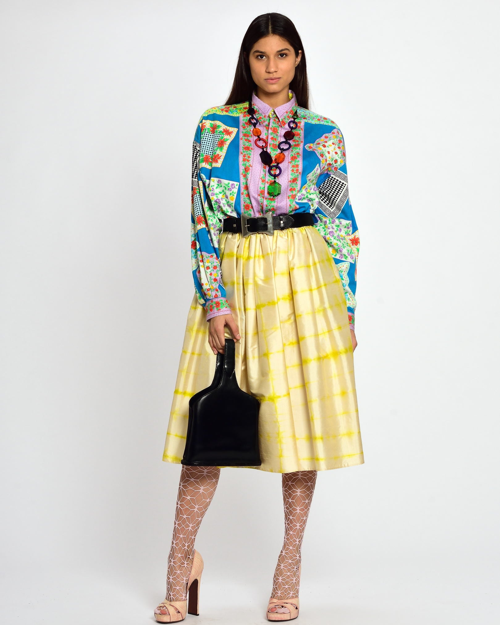 VERSUS by GIANNI VERSACE Floral Print Shirt