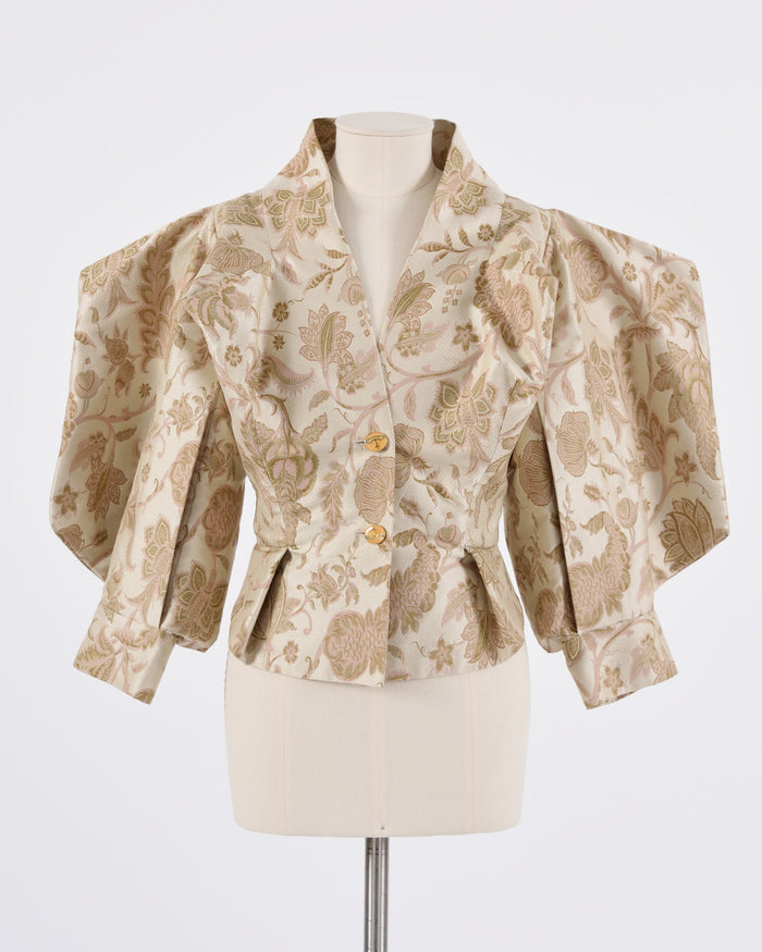 Beige Baroque Jacket