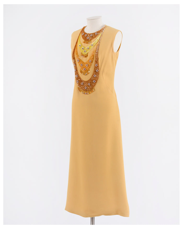 Vintage 1960s Gown Dress